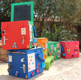 Multi-Colour Busy Box - Ready for Delivery