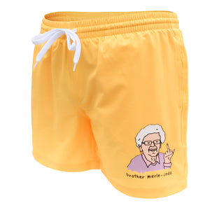 STRETCH SWIMTRUNK BROTHER MERLE ORANGE