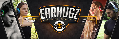 EarHugz Sweat Proof Headphone Covers New Range