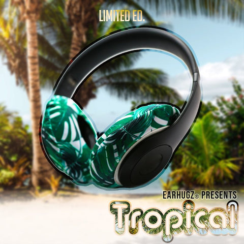 Tropical EarHugz Sweat Headphone