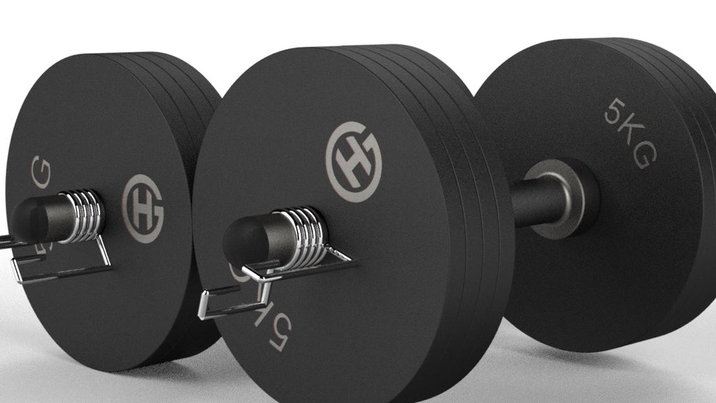 Adjustable Dumbbell Sets - Matte Black