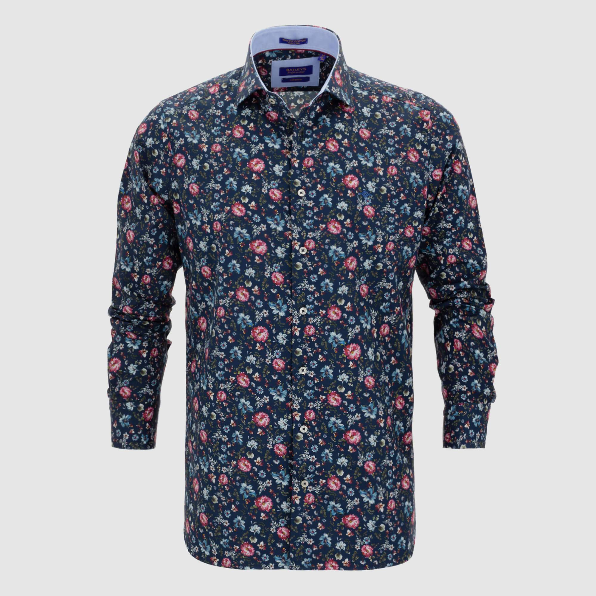 Camisa estampada diseño exclusivo slim fit 927840