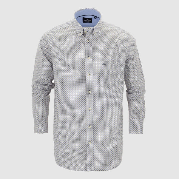 Camisa estampada regular fit 107698