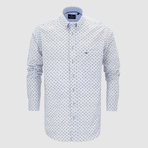 Camisa estampada regular fit 107694