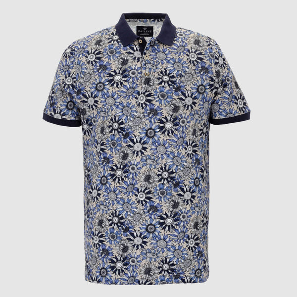 Polo estampado slim fit 106587