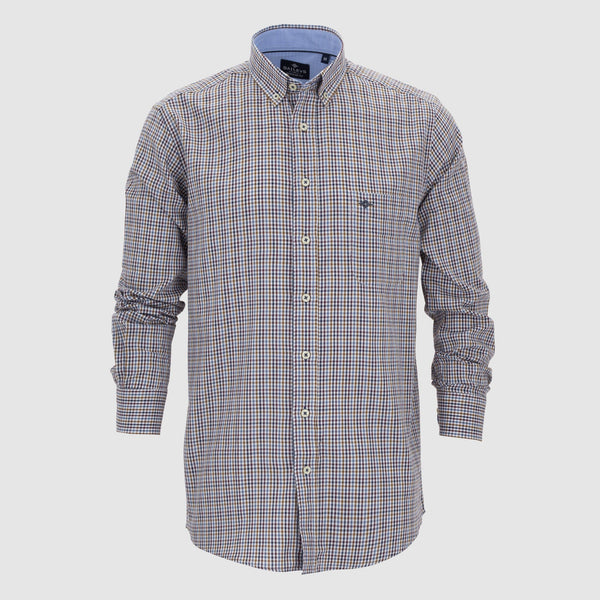 Camisa cuadros regular fit 207690