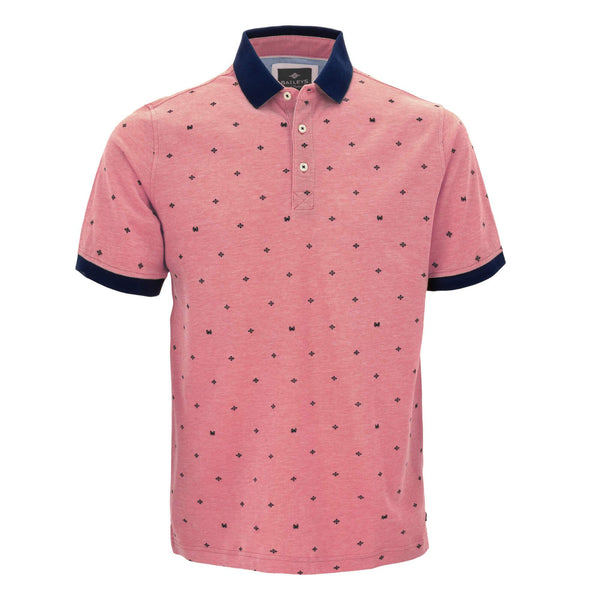 Polo estampado, con corte regular fit 915227