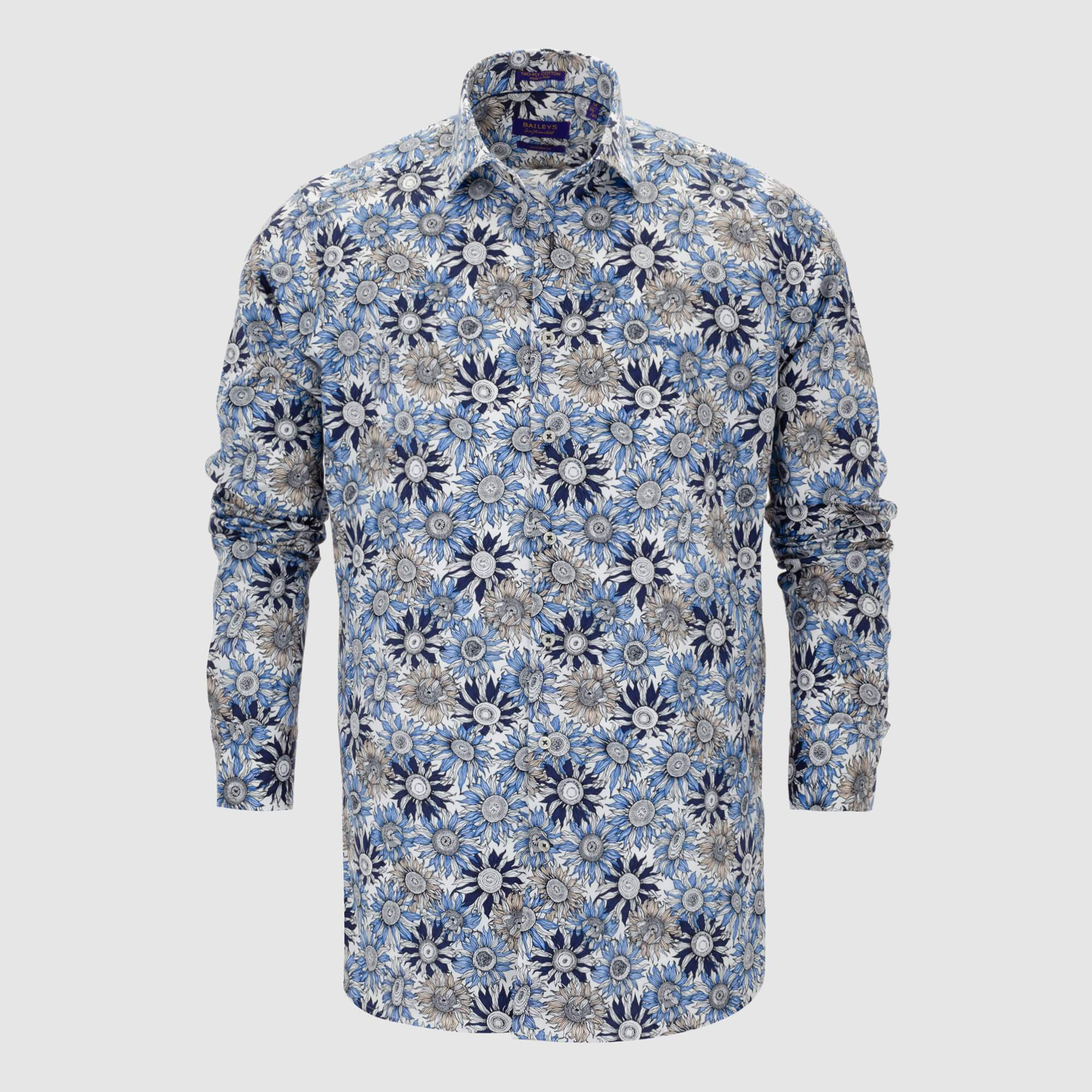 Camisa estampada diseño exclusivo slim fit 107855