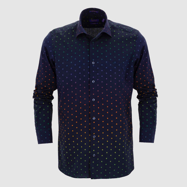 Camisa estampada diseño exclusivo slim fit 927512
