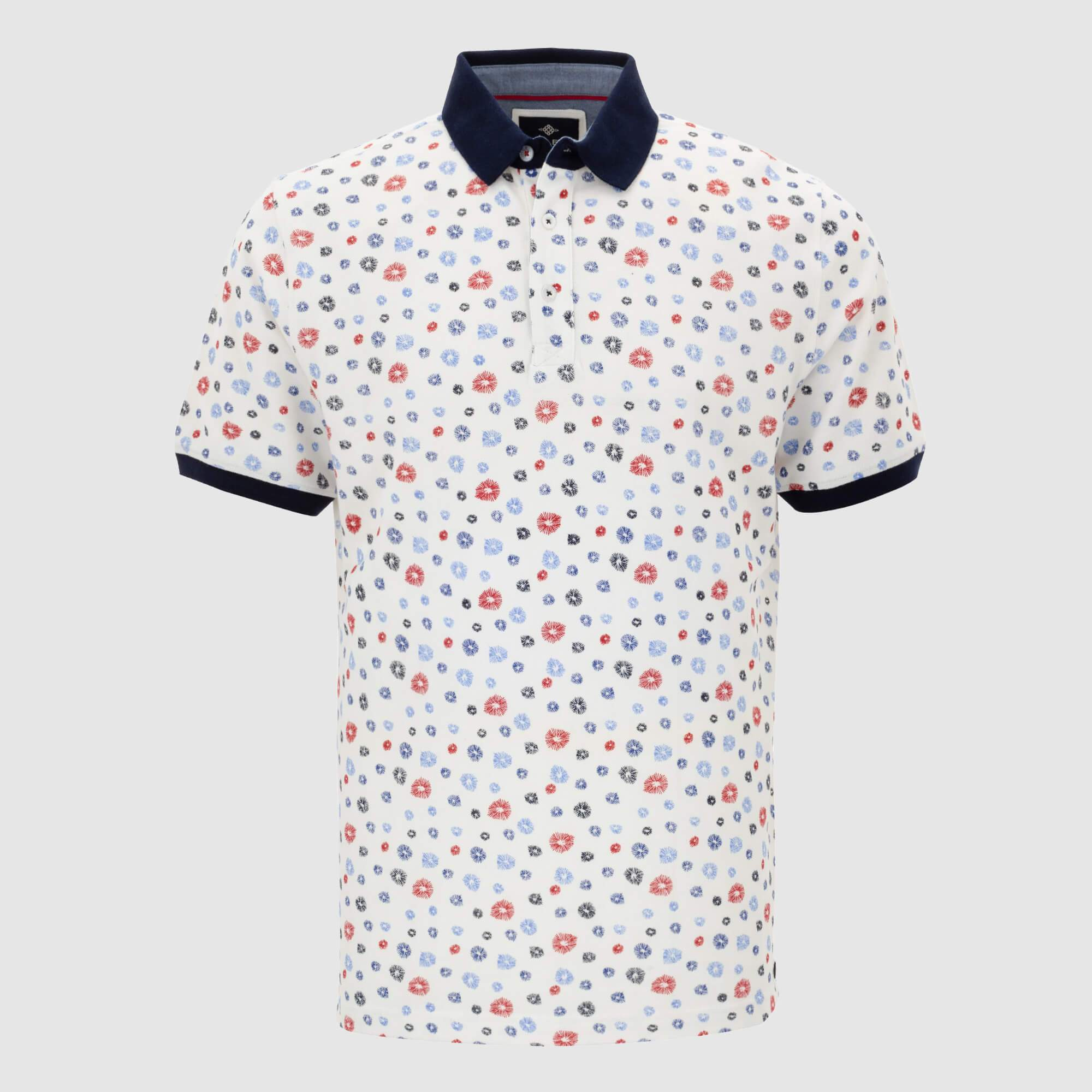 Polo estampado regular fit 105221
