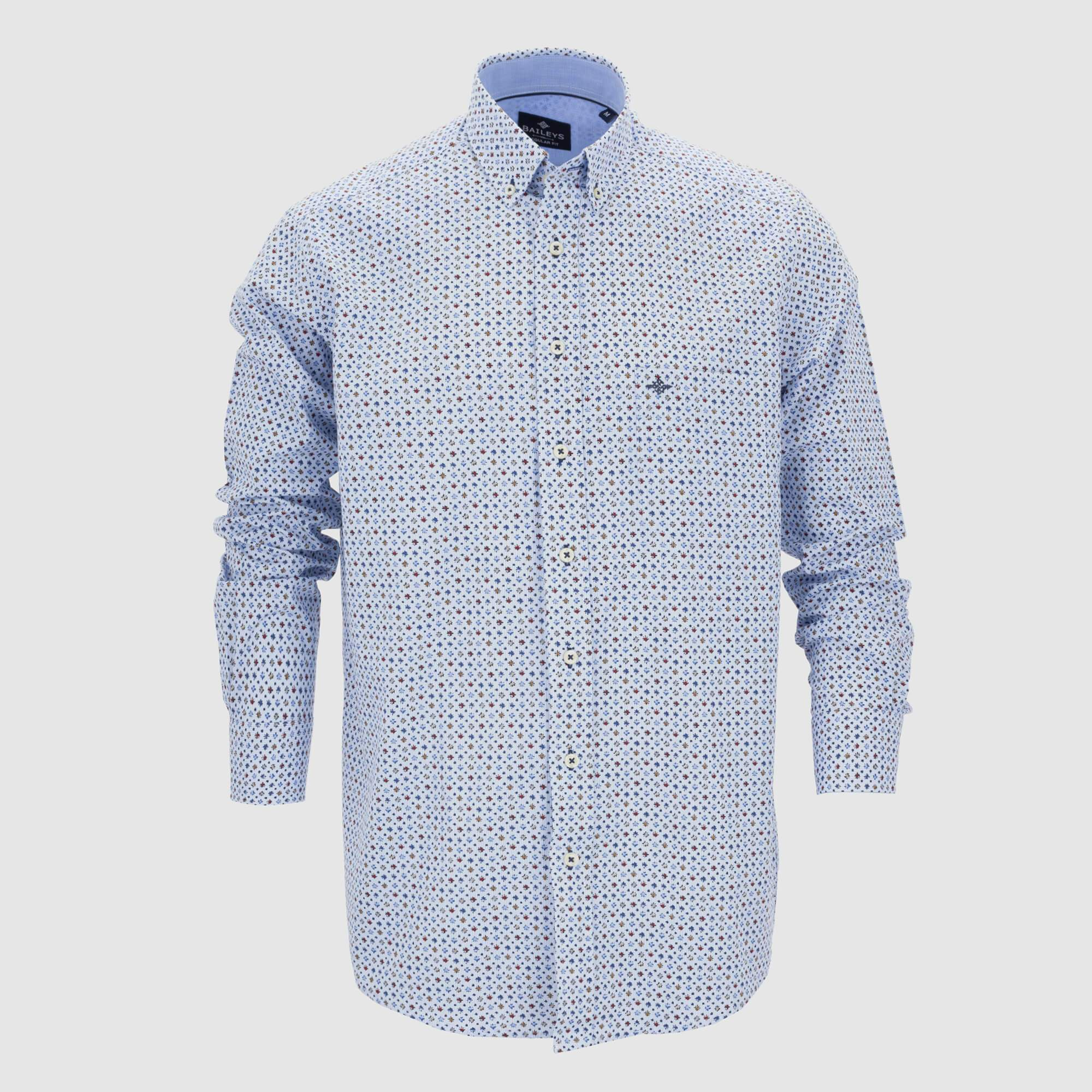 Camisa estampada regular fit 207675