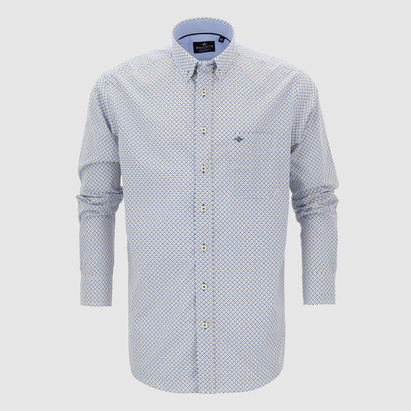 Camisa estampada regular fit 107673
