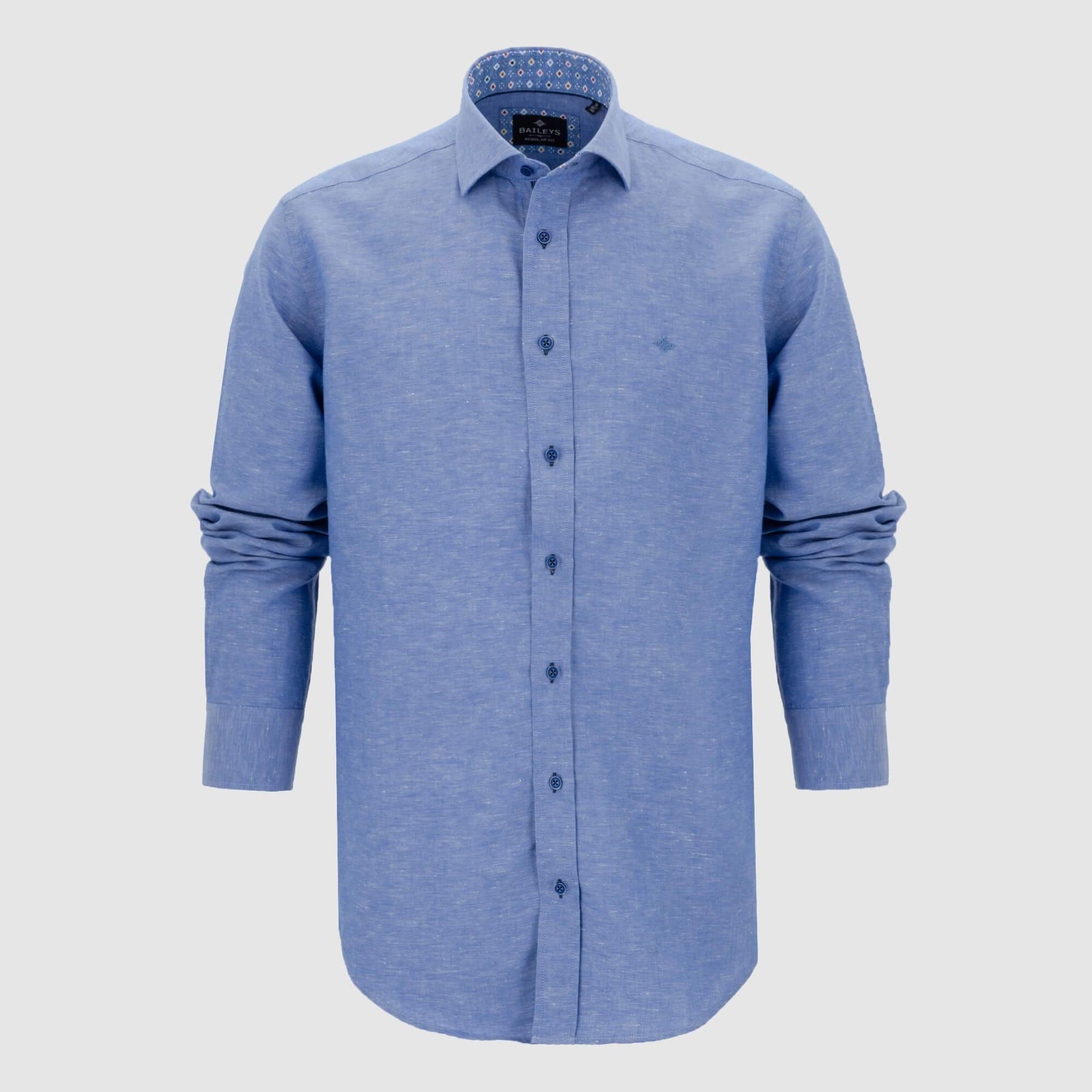 Camisa Linen Look Regular Fit 107005