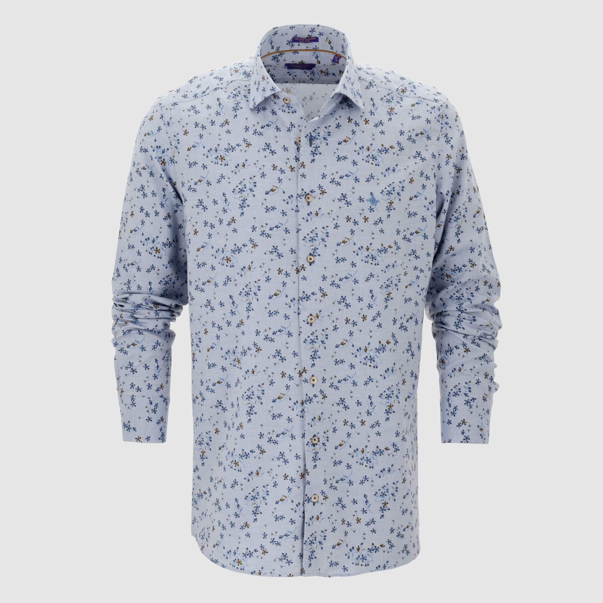 Camisa estampada diseño exclusivo slim fit 927509