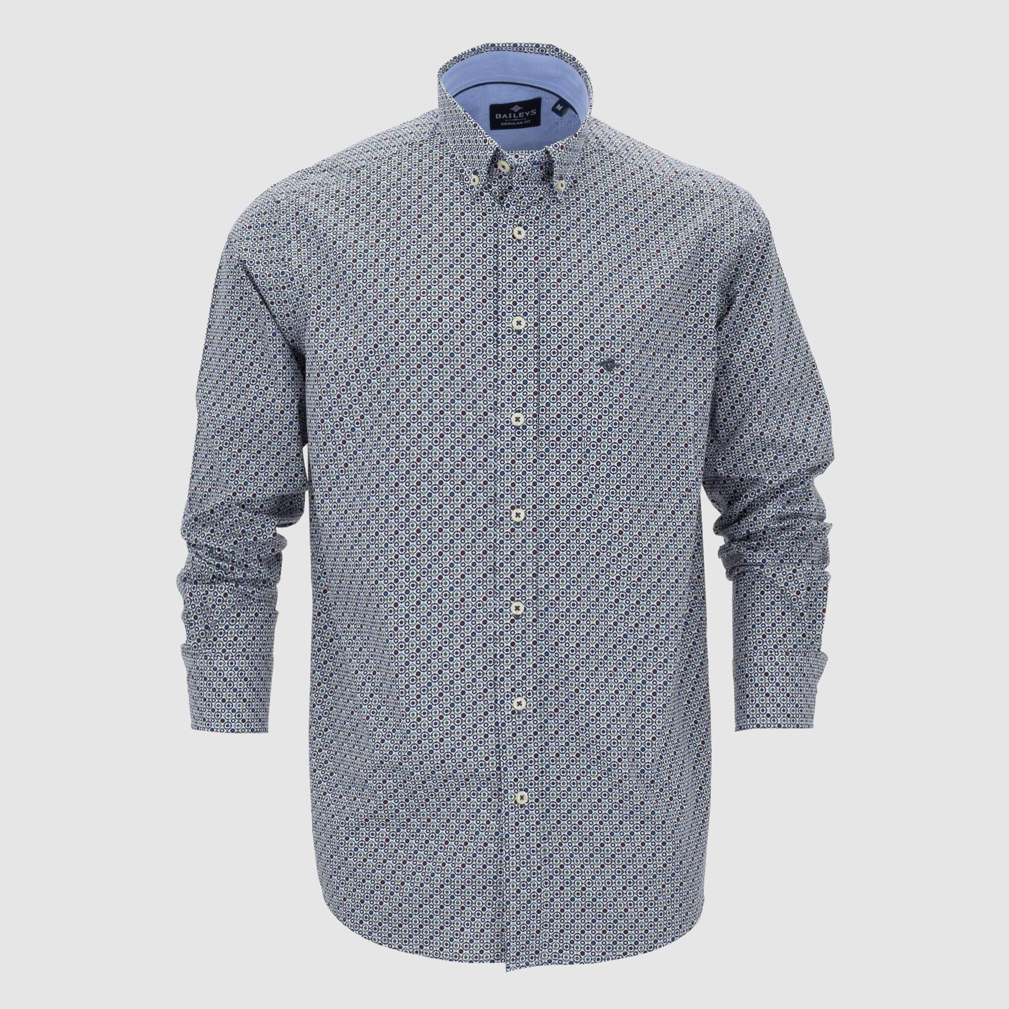 Camisa estampada regular fit 207672