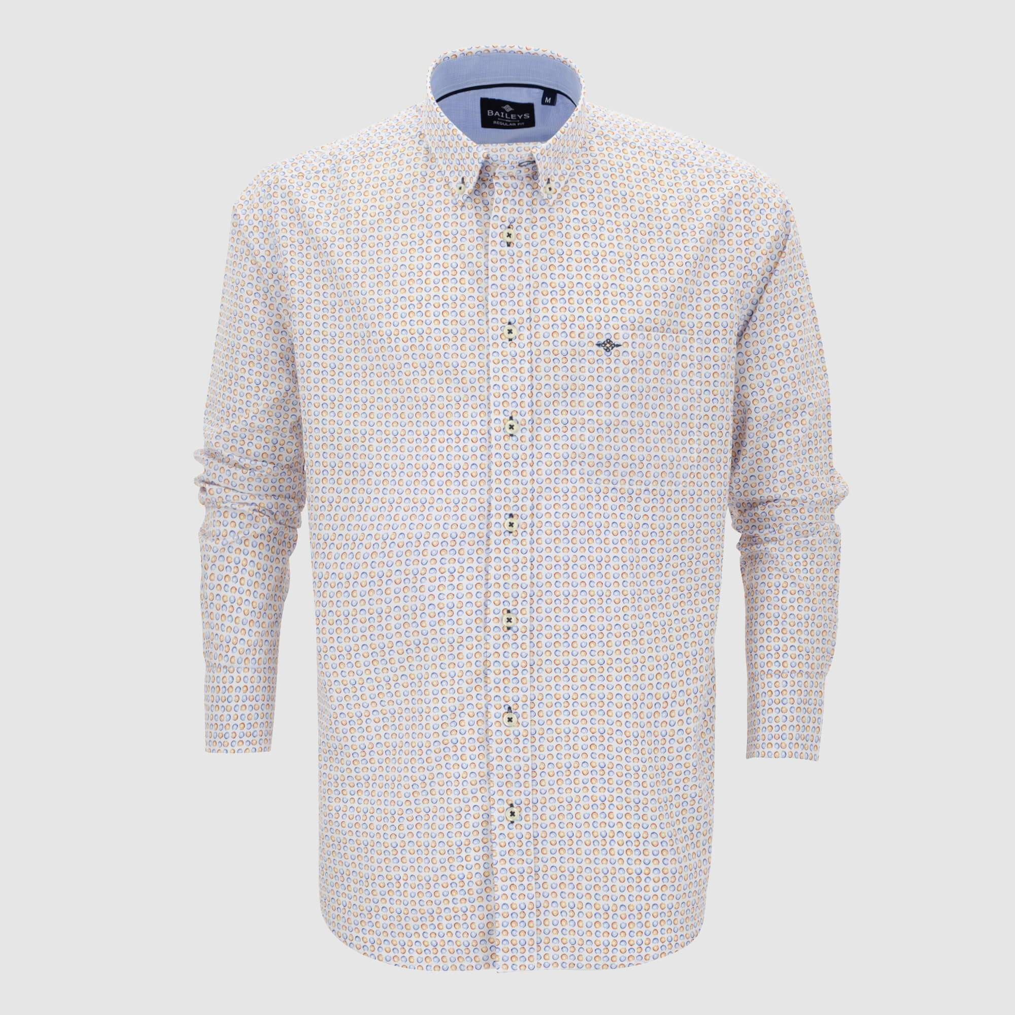 Camisa estampada regular fit 107676