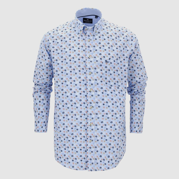 Camisa estampada regular fit 107685