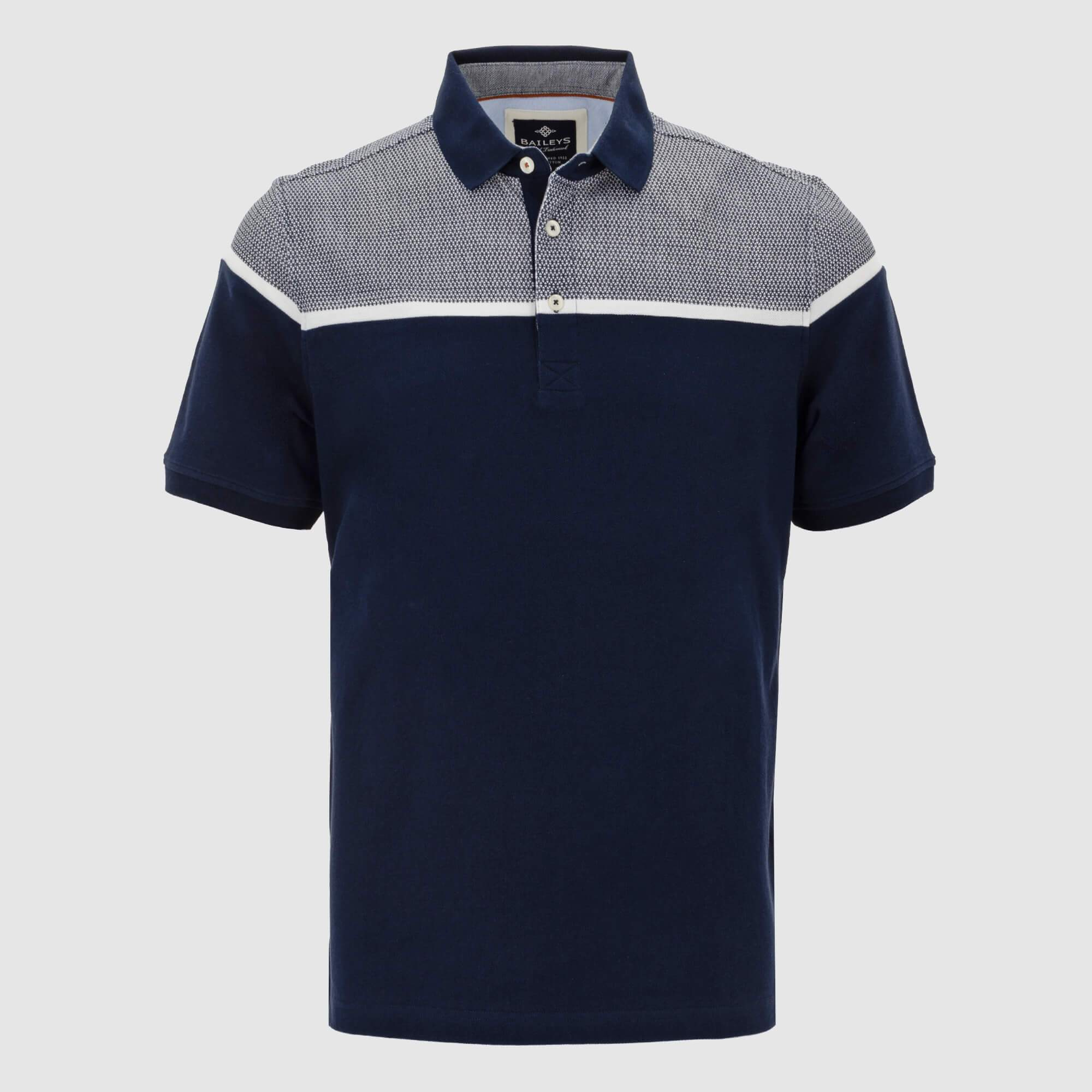 Polo estilo combinado regular fit 105237