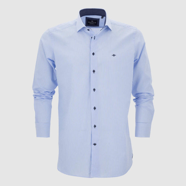 Camisa de rayas slim fit 207800