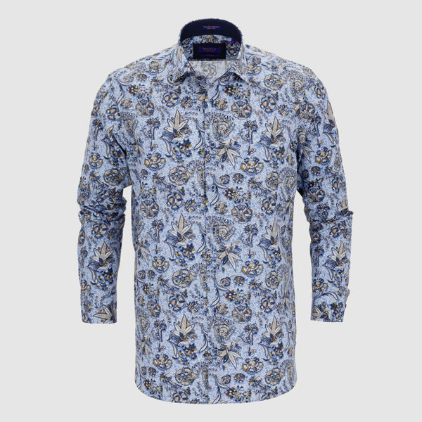 Camisa estampada slim fit 927815