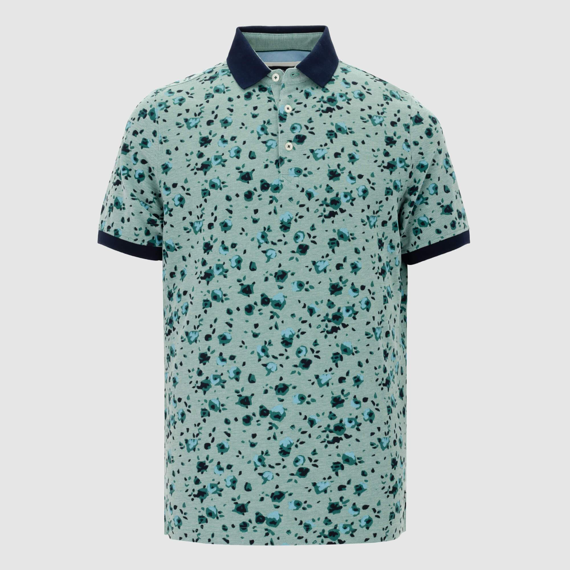 Polo estampado regular fit 105238