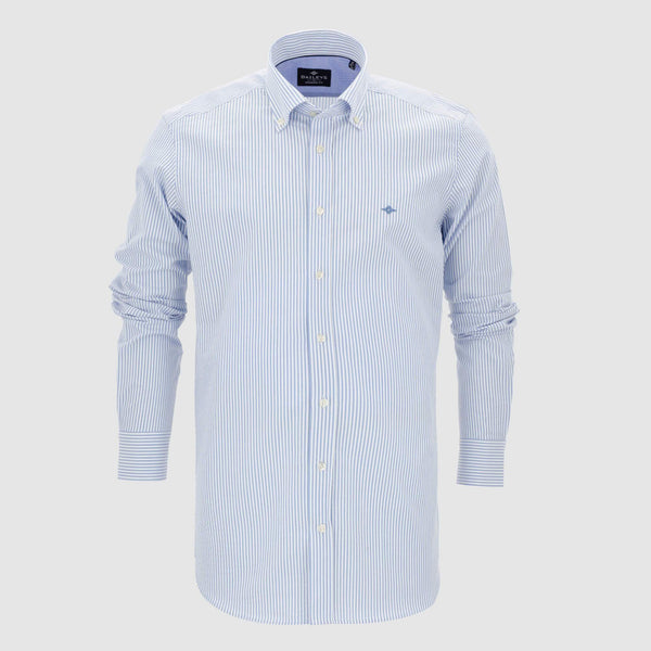 Camisa de rayas slim fit 107820