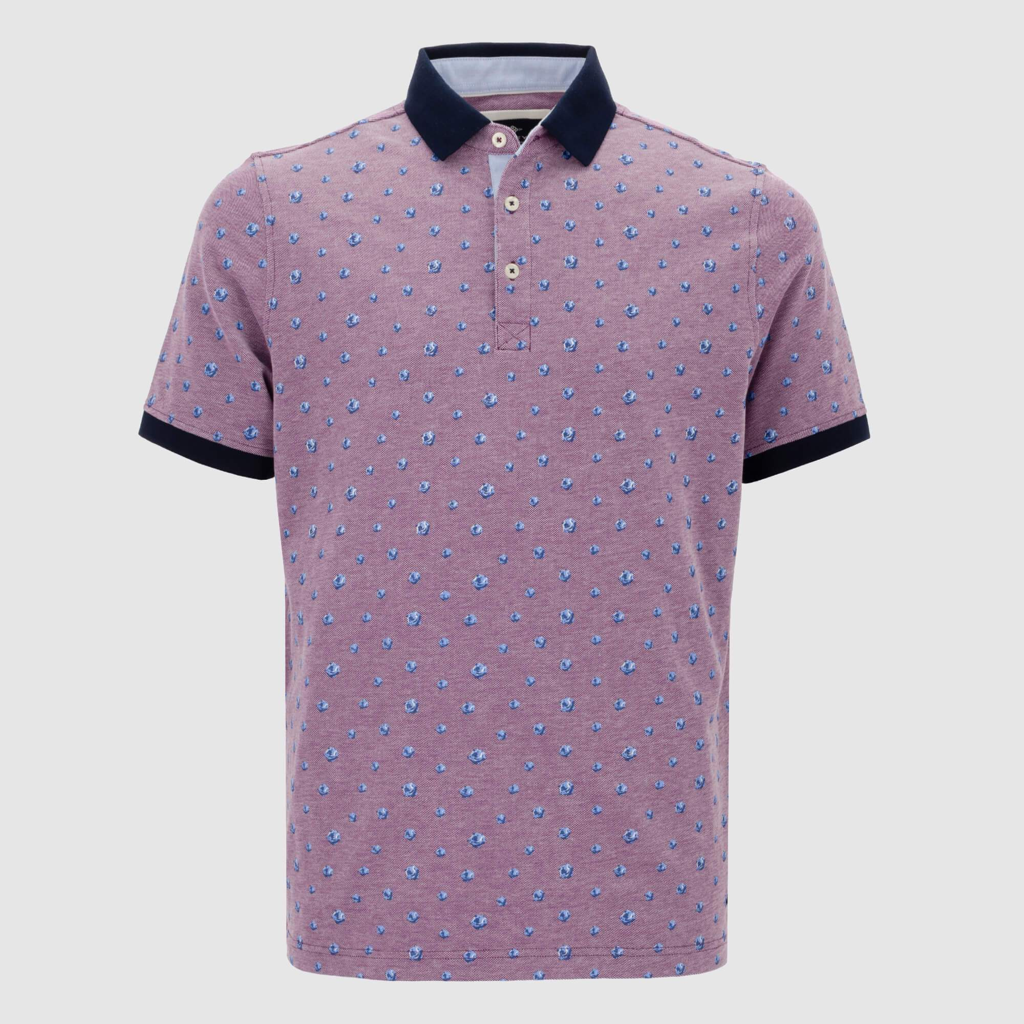 Polo estampado Regular fit 105244