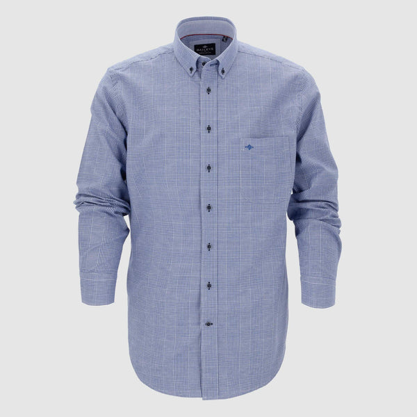 Camisa de microcuadros corte regular fit 927317