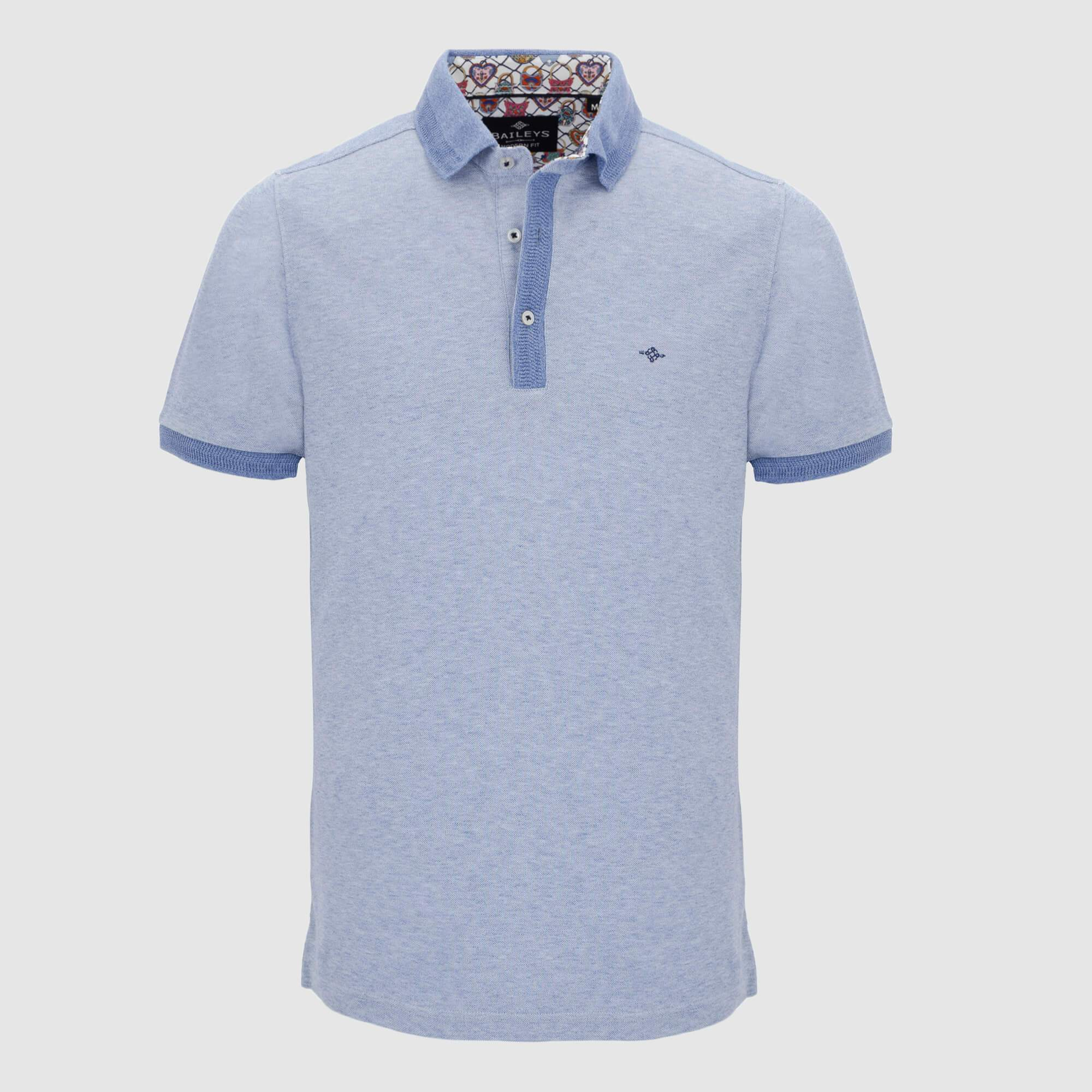 Polo jaspeado slim fit 106591