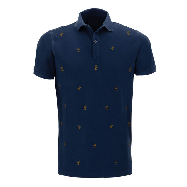 Polo estampado con corte regular fit 915295