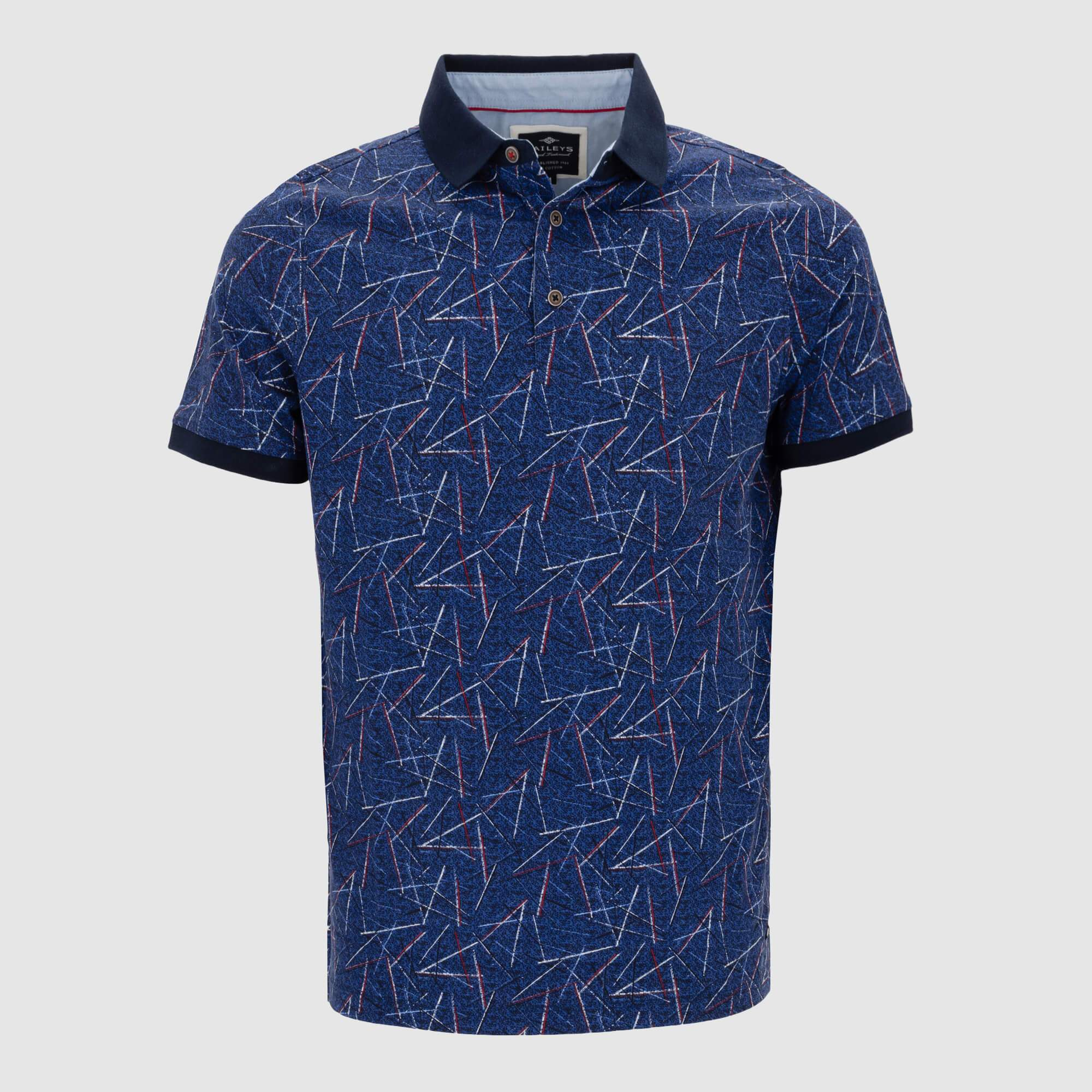 Polo estampado regular fit 105269