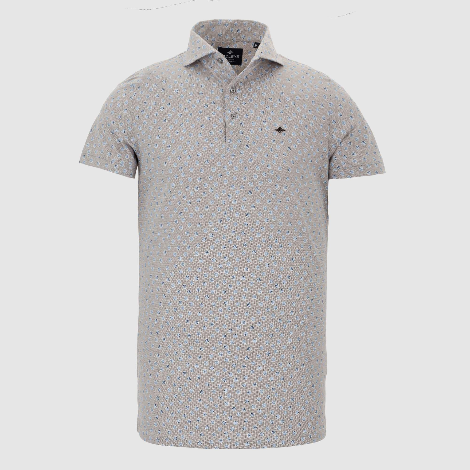 Polo estampado slim fit 105271