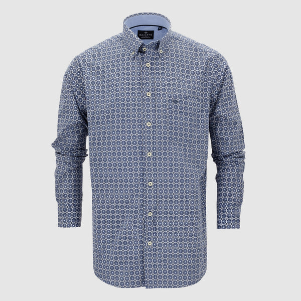 Camisa estampada regular fit 107697