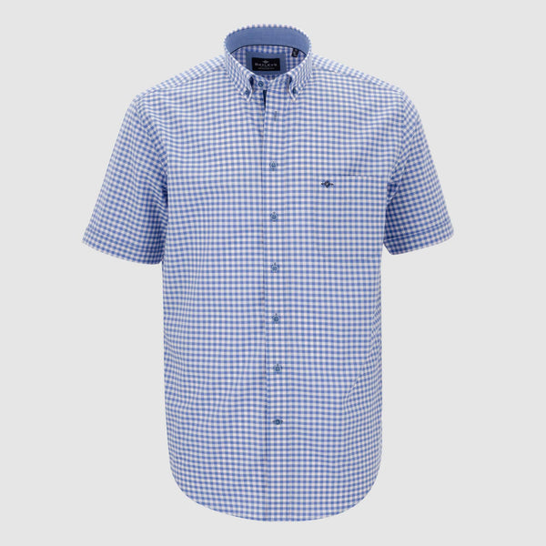 Camisa de cuadros regular fit 106307