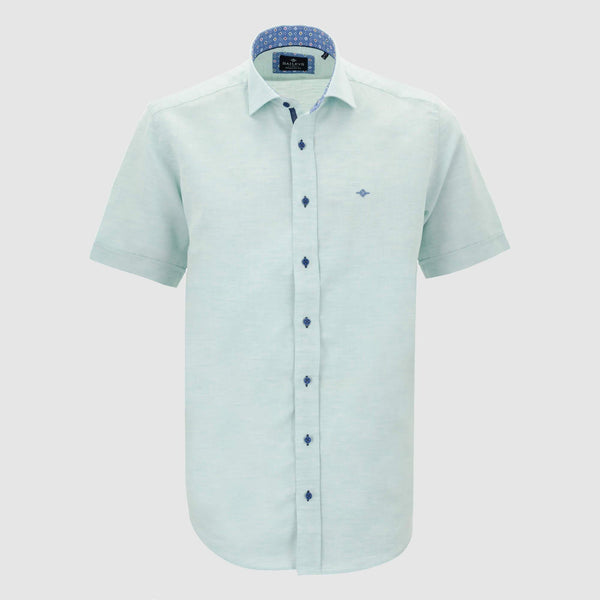 Camisa Linen Look Regular Fit 106005