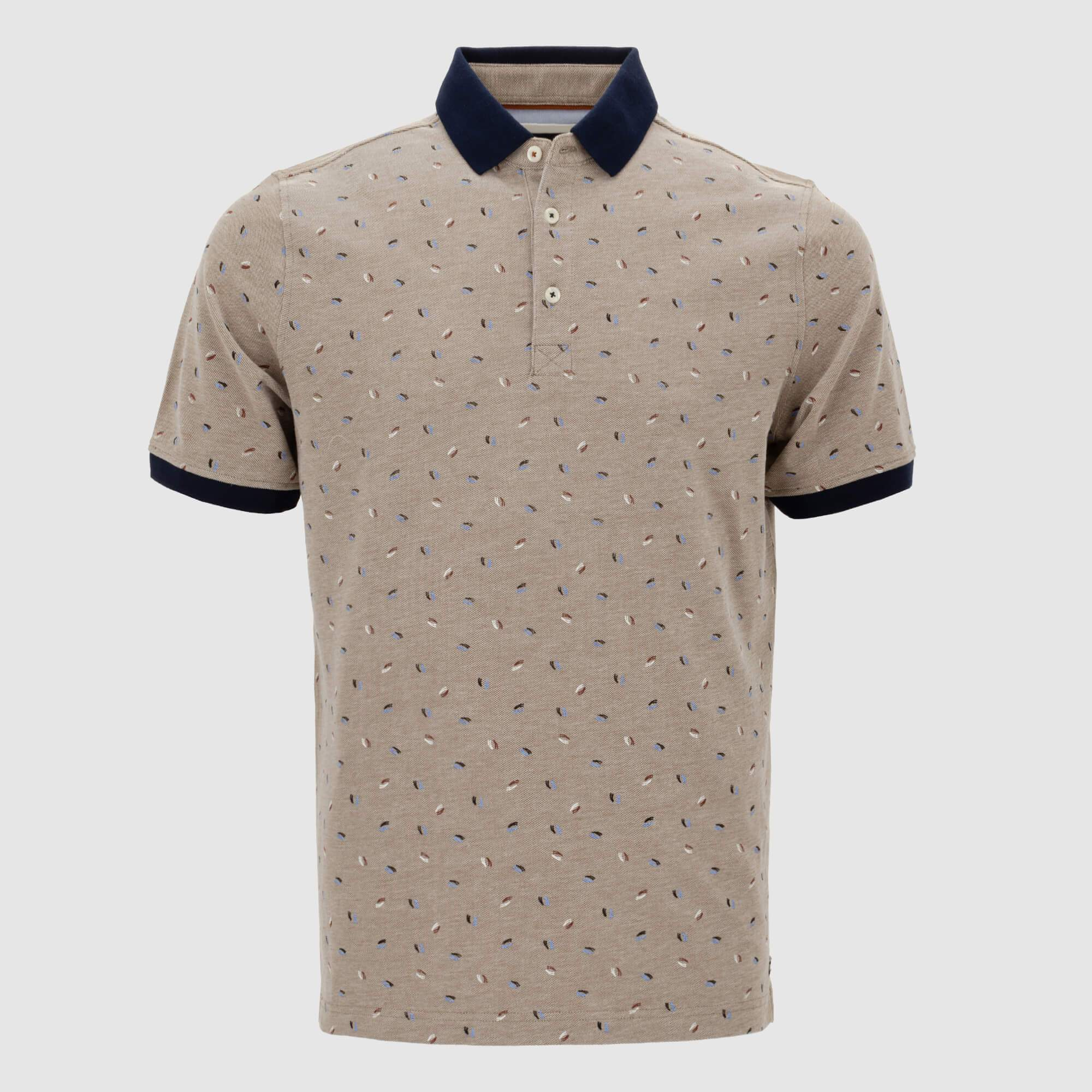 Polo estampado Regular fit 105241