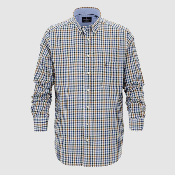 Camisa de cuadros corte regular fit 927674
