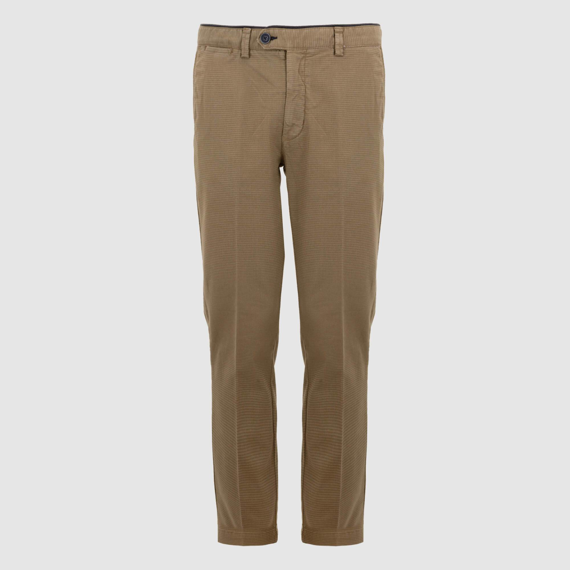 Pantalón chino con micro estampado regular fit 921014/82