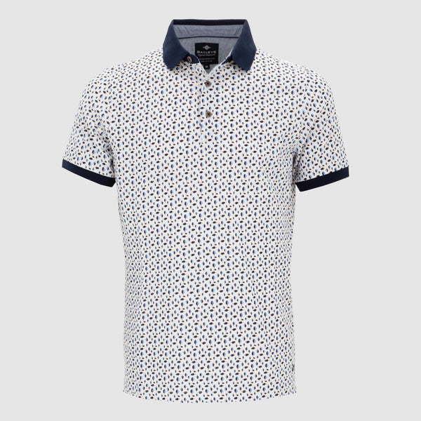 Polo estampado regular fit 105270