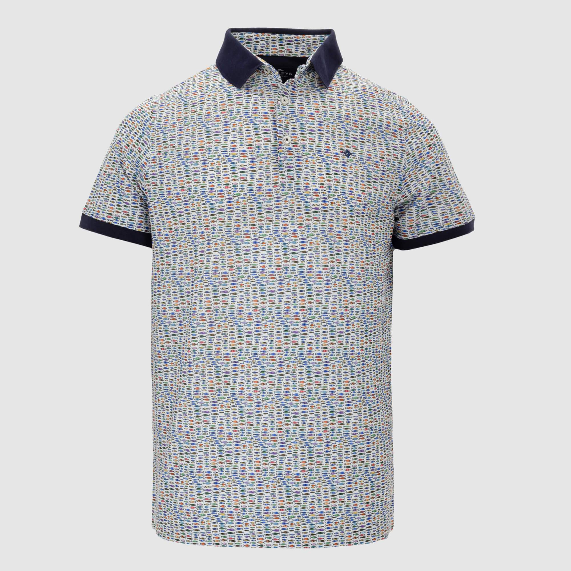 Polo estampado slim fit 106583