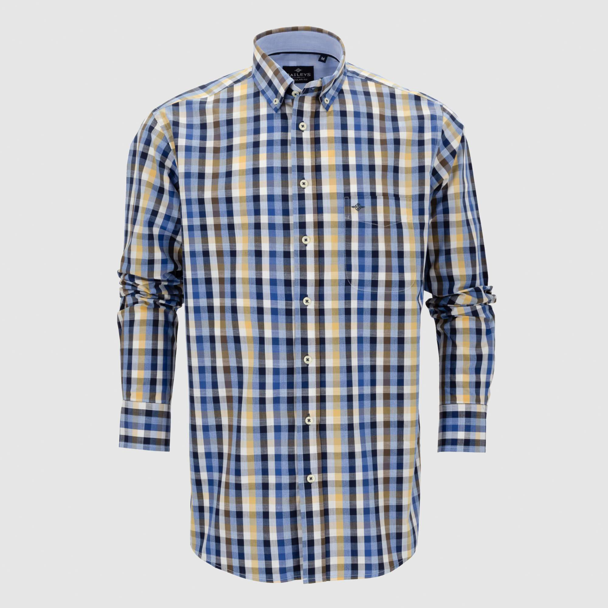 Camisa cuadros regular fit 107670