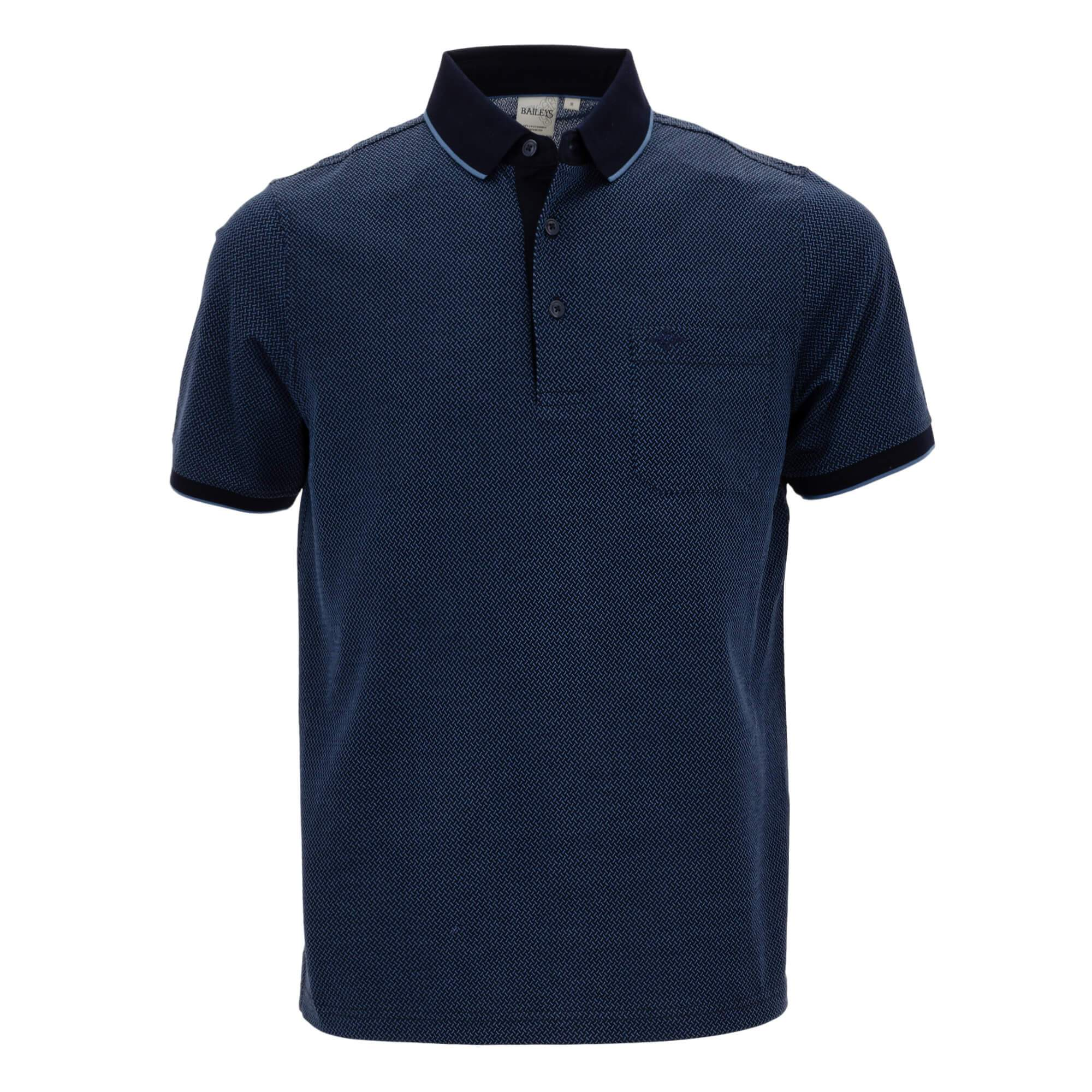 Polo estampado, corte regular fit 914054