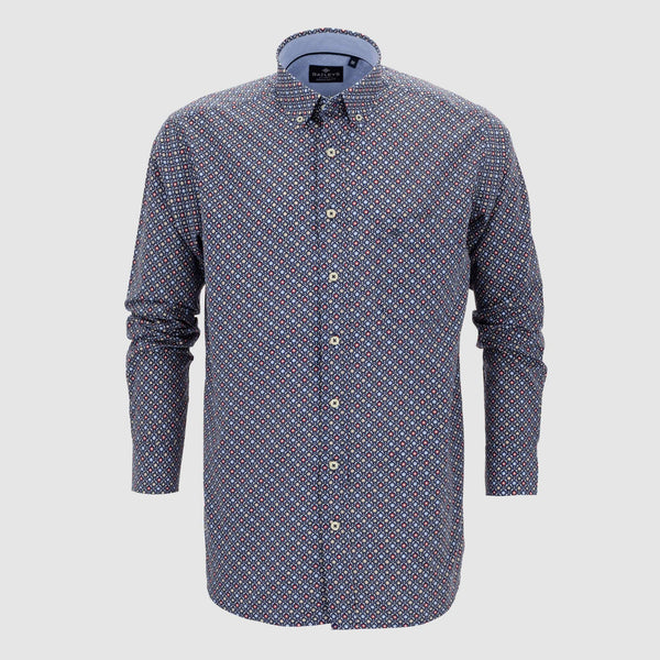 Camisa estampada regular fit 107678