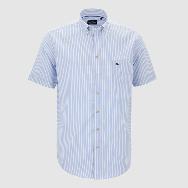 Camisa de rayas regular fit 106870