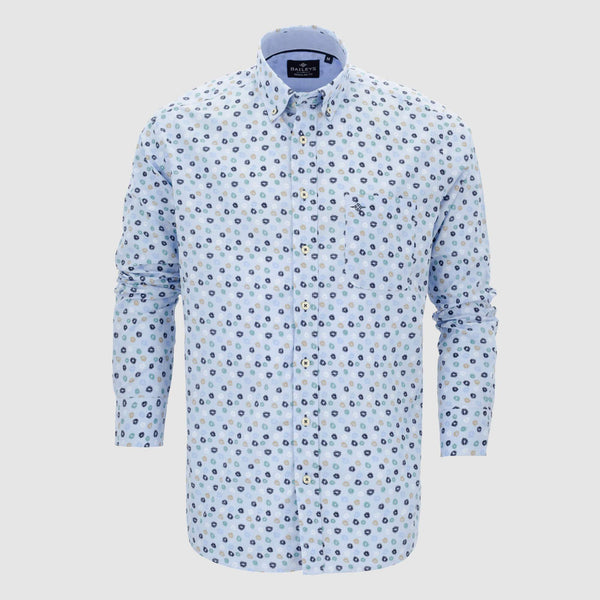 Camisa estampada regular fit 107691