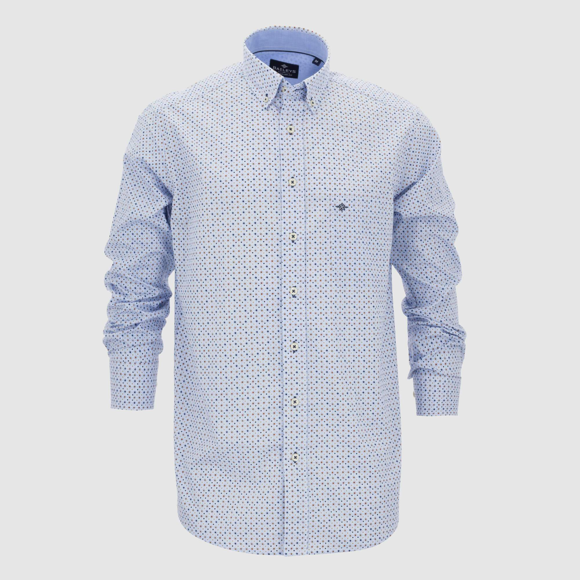 Camisa estampada regular fit 207681