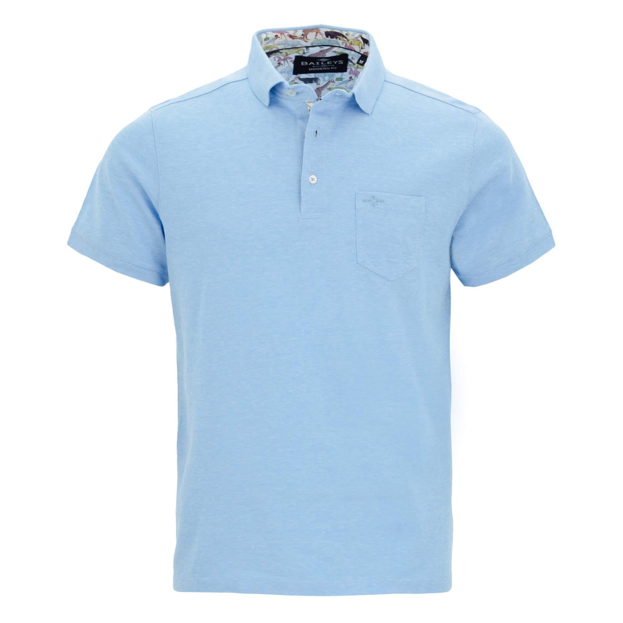 Polo jaspeado slim fit 916899