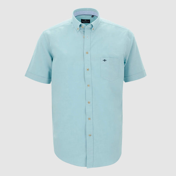 Camisa oxford manga corta regular fit 106000