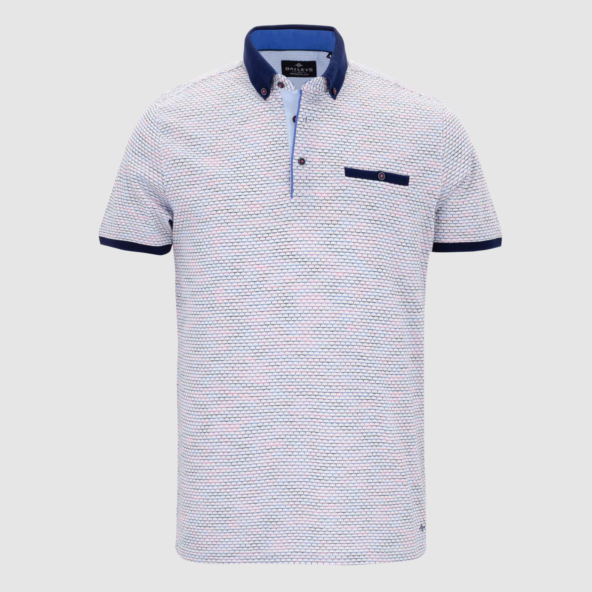 Polo estructura slim fit 106596