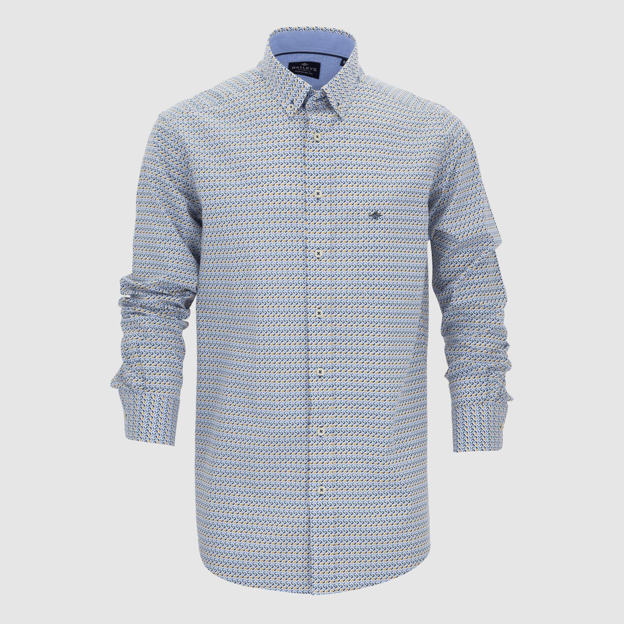 Camisa estampada regular fit 207696